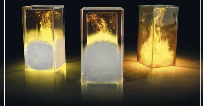 vidrio antifuego